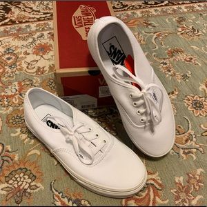 Vans Authentic White W 7.5